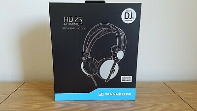 Sennheiser HD 25 Aluminium Headphones - 25th Anniversary Limited Edition (New)