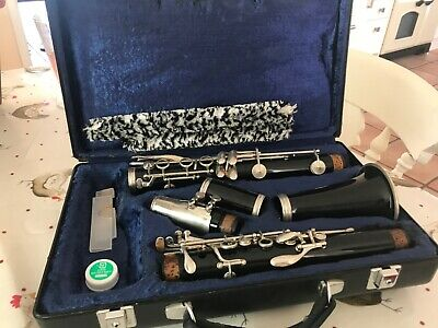 Buffet Crampon B12 Clarinet and hard carry case.