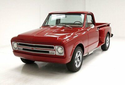 1968 Chevrolet C10 Pickup tunning Red Paint/350ci 3-Speed Saginaw/Near Perfect Oak Bed