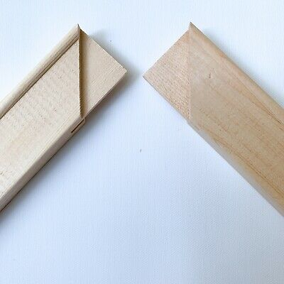 Canvas Stretcher Bars, Canvas Frames, Pine Wood 18mm Thick - Sold By Pair