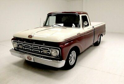 1964 Ford F100 Pickup weet 292ci V8/4-Speed Manual Trans/Vinyl Covered Bed/Excellent Chrome & Trim
