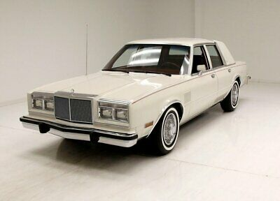 1985 Chrysler Fifth Avenue  38K Original Miles/White On White Exterior/Clean 318 V8/Cushy Leather Interior