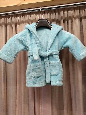 Blue Dressing Gown 18/24 Months Baby