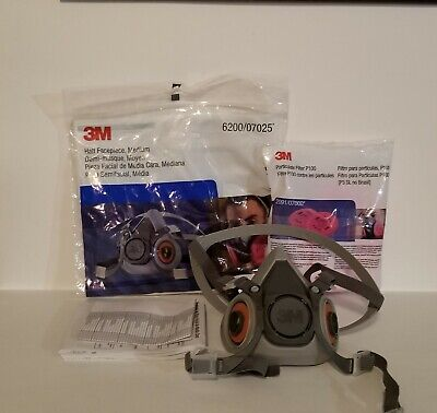 3M 6200 Respirator with filters. ALL Brand New!!