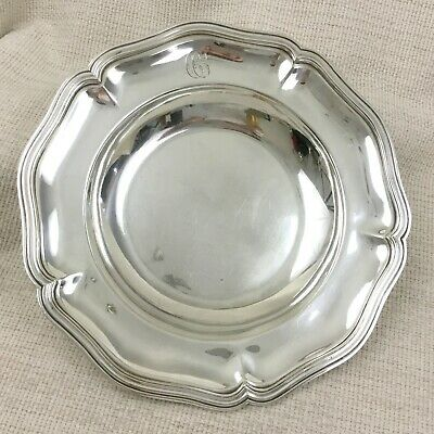 Ercuis Silver Plated Bowl Serving Dish Presentation Plate Antique Silverware