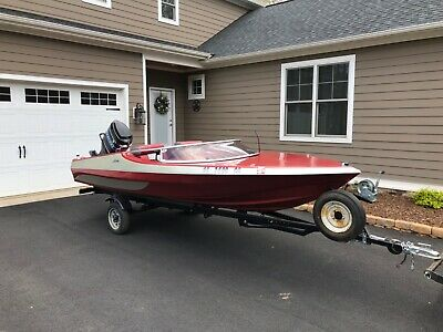 Wriedt Ski Boat 150 Mercury and Trailer