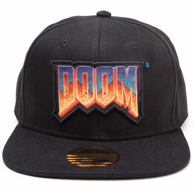 Official DOOM Baseball Cap Snapback Hat Quality Gamer Gaming Gift