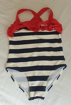 2-3 Year Old Girls Striped Swimming Suit Make Your Own Bundle