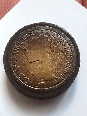 Latvia Large Bronze Medal 1960 86.8 G