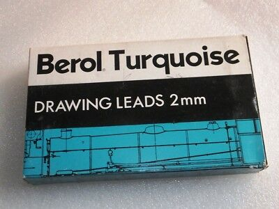 Berol Turquoise Drawing Leads 2Mm 3H- 2375 ( 6 Dozens -72 Leads )