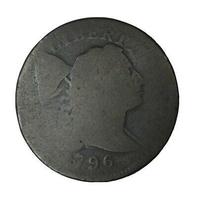 1796 1C Flowing Hair Large Cent AG Uncertified