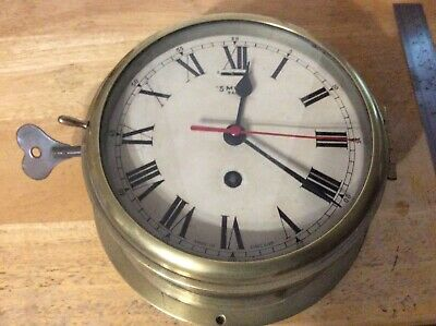 Smiths Coventry Astral Ships Clock With Locking Bezel