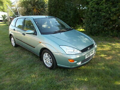 1999 Ford Focus Green 1.8 Ghia Diesel, Genuine 46,336 mls,  STUNNING Condition