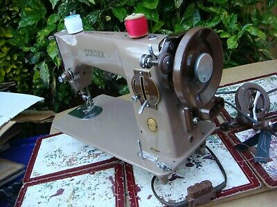 Antique Old Vintage Hand Crank & Electric  Singer sewing machine Model  201k