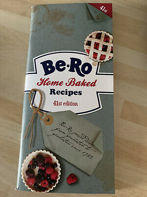 BE-RO HOME BAKED RECIPES 41st EDITION BERO COOK BOOK Brand New