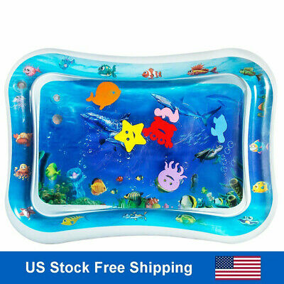 Inflatable Tummy Time Water Play Mat Christmas Gifts for Baby  Infants & Toddler