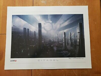 Mass Effect 2: Lithograph - Citadel *Signed & Limited 172/400*