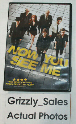 USED Now You See Me DVD -CanadianSeller-