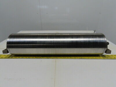 "Van Der Graaf TM160B30-475Z 25-1/2"" W 460V 3Ph 102FPM Power Drum Conveyor Roller"