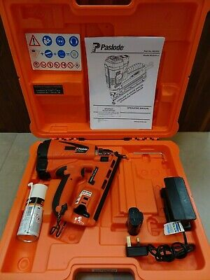 Paslode IM65A Lithium Angled F16 2nd fix brad pin gun Excellent Hardly used