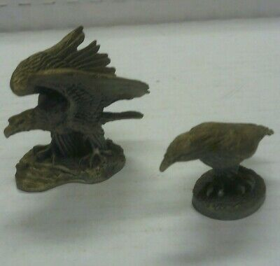 Hudson Fine Pewter Eagles, Set of 2, Made in USA