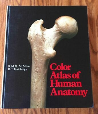 Color Atlas of Human Anatomy by Robert M. McMinn (1977, Hardcover