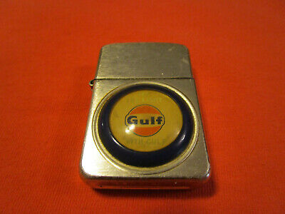 """RARE Gulf  Lighter Oil Gas Advertising USA """"See the light with Gulf"""""""