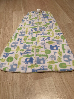 Halo SleepSack, Micro-fleece, Safari Print, Small