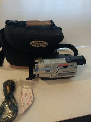 Sony Handycam CCD-TRV318 Hi-8 Analog NTSC 8mm Video Camcorder NO CHARGER