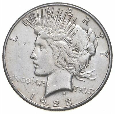 Early - 1923-S - Peace Silver Dollar - 90% US Coin *416