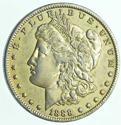 Early 1888-O Morgan Silver Dollar - 90% US Coin *319