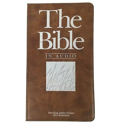 THE BIBLE IN AUDIO New Testament New King James Version 12 Cassettes Complete