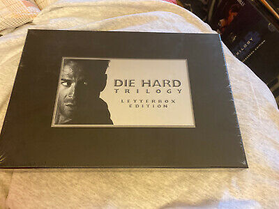 Die Hard Trilogy (VHS) Letterbox (1995) Box Set - New Sealed - Bruce Willis