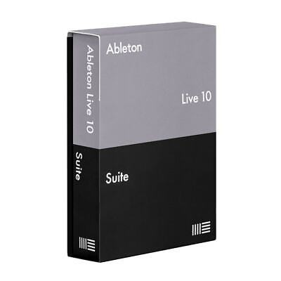 Ableton Live 10 Suite - Genuine Full License - Digital Delivery