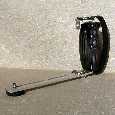 Collapsible camera bracket with flash shoe