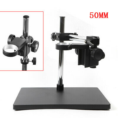Lab Bracket Industry Stereo Digital Microscope Table Stand Platform 50mm Ring