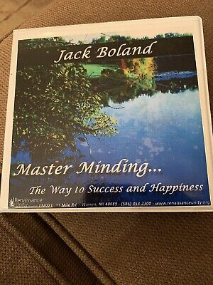 Renaissance Unity-Master Minding The Way To Success and Happiness 8 Audio Cd Set