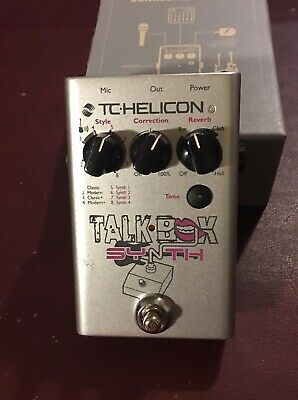 T C Helicon Talk Box Synth