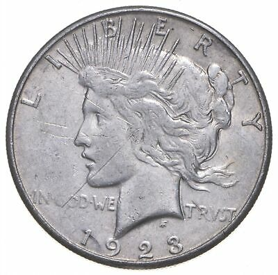 Early - 1923-S - Peace Silver Dollar - 90% US Coin *415