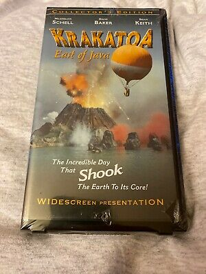 Krakatoa East Of Java (1968) VHS New Sealed - Anchor Bay Collectors Edition