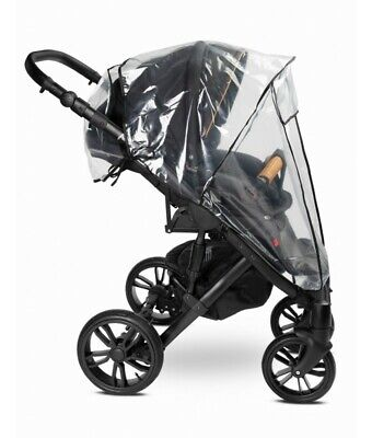 Universal Buggy Pushchair Stroller Pram Transparent Rain Cover Vent Baby