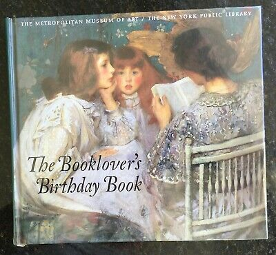 The Booklover's Birthday Book (Hardcover)