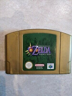 Nintendo 64 The Legend Of Zelda Majora's Mask EUR sans boite notice cale