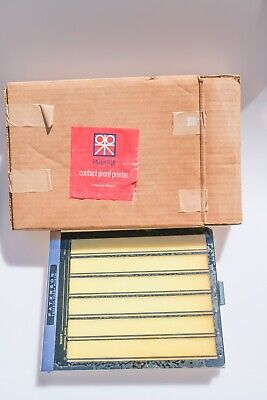 Paterson Vintage 35mm Contact Proof Printer (Boxed)