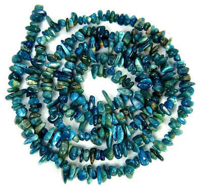 6-8mm Natural Kyanite Chips Beads Gemstone Freeform Strands 16""