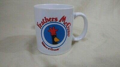 VTG Wallace And Gromit Feathers McGraw Coffee Cup Mug 1989