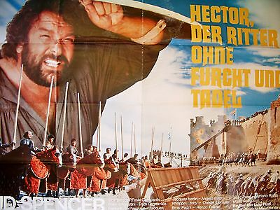 BUD SPENCER + HECTOR - RITTER OHNE FURCHT UND TADEL + A0 quer +