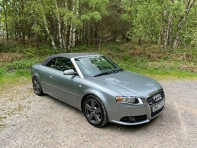 2007 Audi A4 Cabriolet / Convertible S Line 2.0 Diesel Manual