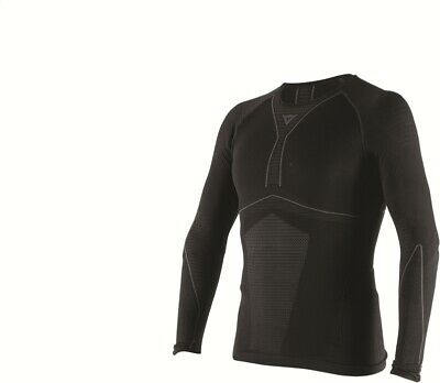 Thermal Sweater Dainese D-Core Dry Tee Ls Black Anthracite