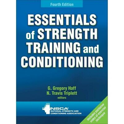 Essentials of Strength Training, 4ed - NSCA CSCS 4th Edition